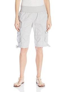 Calvin Klein Performance Women's Rollover Waistband Cargo Short  X-Large