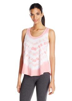 Calvin Klein Performance Women's San Jose Tie Dye Pleat Back Tank Top  XL