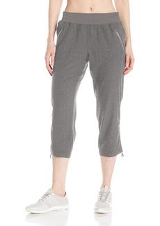 """Calvin Klein Performance Women's Shirred Bottom Crop Pant 23"""" Inseam  M"""