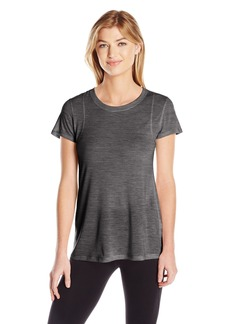 Calvin Klein Performance Women's Short Sleeve Tee With Inset Shoulder seams  L
