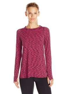 Calvin Klein Performance Women's Space Dye Pleat Back Tee
