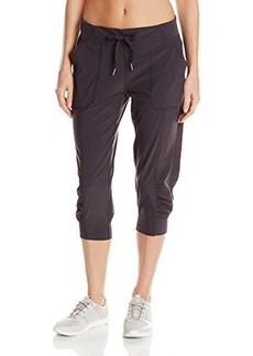 Calvin Klein Performance Women's Stretch Microfiber Cuff Capri