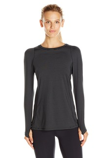 Calvin Klein Performance Women's Stripe Pleat Back Tee