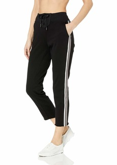 Calvin Klein Performance Women's Stripe Tape Lace Up Ankle Length Pant