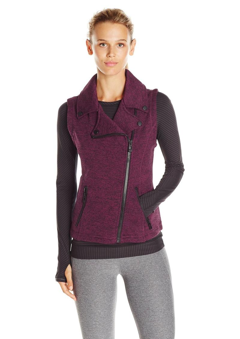 Calvin Klein Performance Women's Sweater Knit Fleece Vest  M