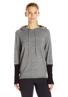 Calvin Klein Performance Women's Sweater Knit Hooded Top  edium