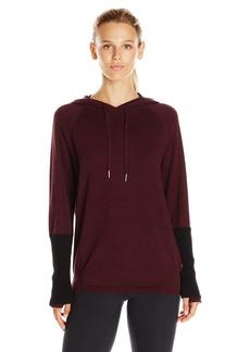 Calvin Klein Performance Women's Sweater Knit Hooded Top