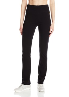 Calvin Klein Performance Women's Techno Roma Straight Leg Pant  M