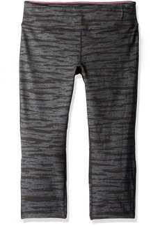 Calvin Klein Performance Women's Textured Print Crop Legging