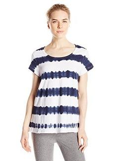 Calvin Klein Performance Women's Tie Dye Stripe Tee