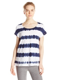 Calvin Klein Performance Women's Tie Dye Stripe Tee