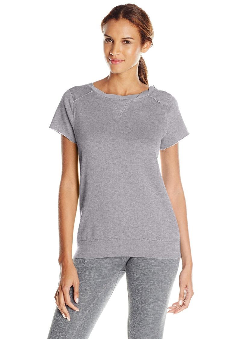 Calvin Klein Performance Women's Twist Neck Tunic with Back Zipper