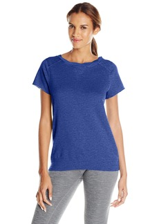 Calvin Klein Performance Women's Twist Neck Tunic with Back Zipper