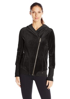 Calvin Klein Performance Women's Velour Hooded Jacket