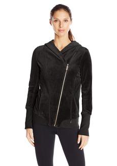 Calvin Klein Performance Women's Velour Hooded Jacket