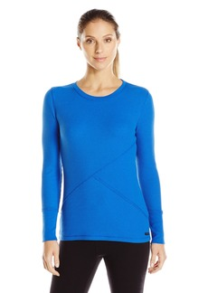 Calvin Klein Performance Women's Waffle Knit Tee Surf The Web M