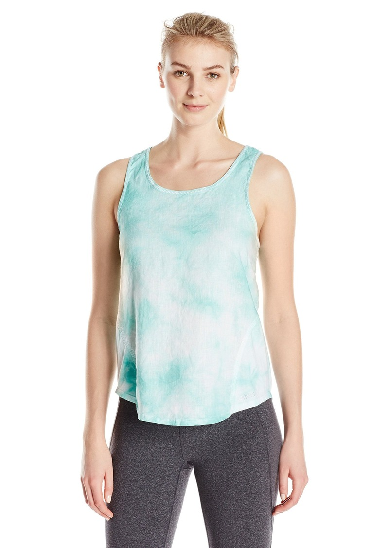 Calvin Klein Performance Women's Washed Linen Tie Dye Tank