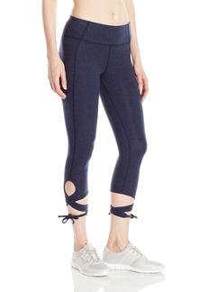 Calvin Klein Performance Women's Wrap-Around Tie Crop Legging  L