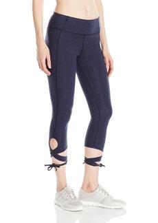 Calvin Klein Performance Women's Wrap-Around Tie Crop Legging  S