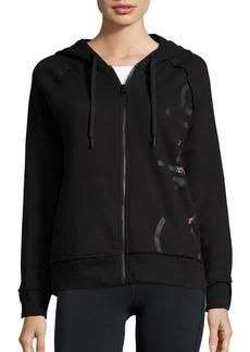Calvin Klein Performance Zip-Front Logo Hoodie