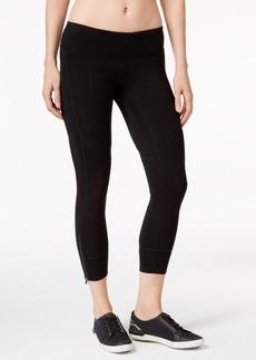 Calvin Klein Performance Zip-Hem Capri Leggings