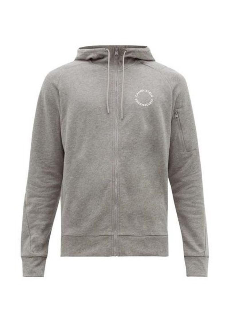 Calvin Klein Performance Zip-through cotton track top