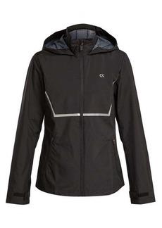 Calvin Klein Performance Zip-through hooded wind jacket