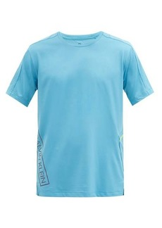 Calvin Klein Performance Zipped-pocket stretch-jersey T-shirt
