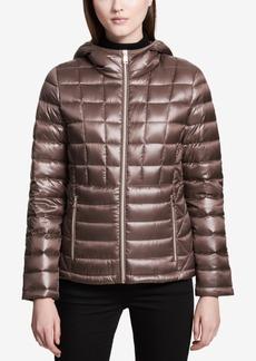 Calvin Klein Petite Down Puffer Coat