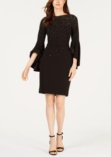 Calvin Klein Petite Embellished Sheath Dress