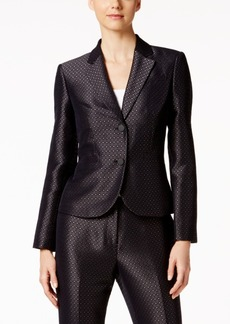 Calvin Klein Jacquard Two-Button Blazer