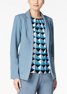 Calvin Klein Petite Open-Front Blazer