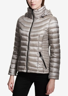 Calvin Klein Petite Packable Puffer Coat, a Macy's Exclusive Style