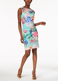 Calvin Klein Petite Starburst Scuba Dress