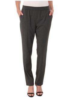 Calvin Klein Pinstripe Pull-On Pants
