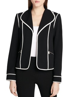 Calvin Klein Piped Blazer