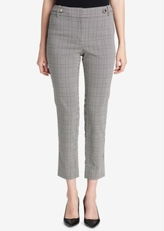 Calvin Klein Plaid Ankle Pants