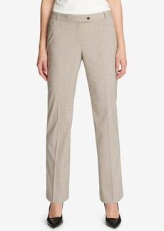 Calvin Klein Plaid Ankle Pants