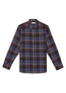 Calvin Klein Plaid Long-Sleeve Shirt