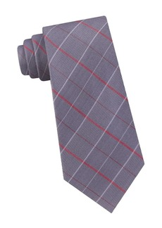 Calvin Klein Plaid Silk Tie