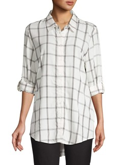 Calvin Klein Plaid Tunic