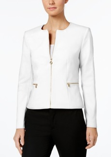 Calvin Klein Pleated-Back Jacket