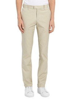 Calvin Klein Pleated Stretch-Fit Trousers