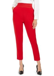 Calvin Klein Pleated-Waist Slim-Fit Pants