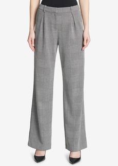 Calvin Klein Pleated Wide-Leg Trousers