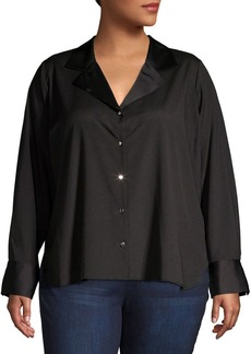 Calvin Klein Collared Button Front Shirt