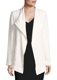Calvin Klein Plus Flyaway Jashion Jacket