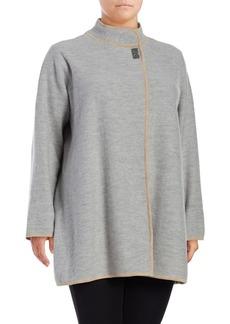 Calvin Klein Plus Heather Boil Jacket