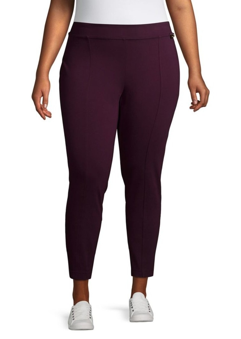 Calvin Klein Plus Logo Stretch Leggings