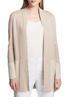 Calvin Klein Plus Long-Sleeve Cardigan